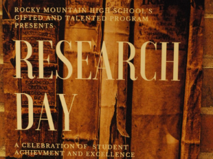 Research Day is May 6, 2017