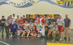 The Rocky wrestling team