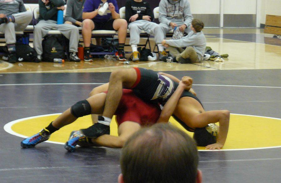 Wrestling at Fort Collins