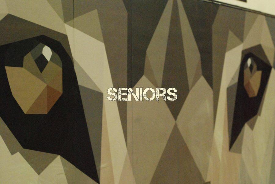 Seniors Schedule for Testing Week.