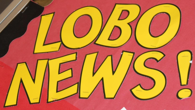 Lobo News poster.
