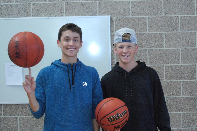 Easton Radcliff and Hayden Heinze