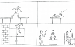 Highlighter Staff Cartoon