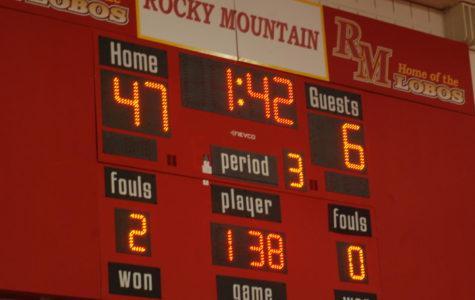 Rocky Wrestling VS Fort Collins 1/11/18