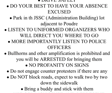 Important safety information for the walk out