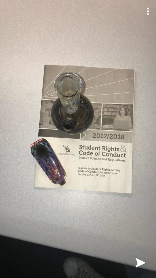Confiscated+bong+and+pipe+placed+on+student+code+of+conduct+