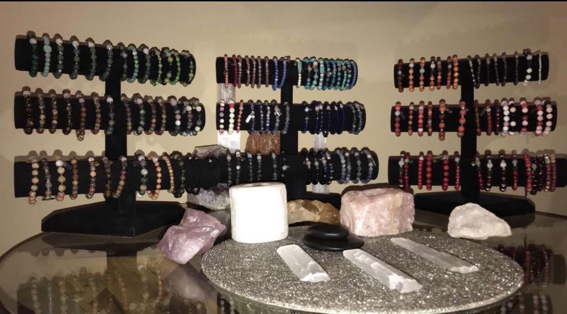 Macie Lynch's Busy Bead bracelets.