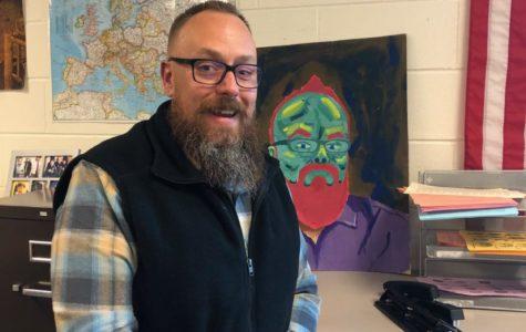 Teacher Talk: Getting to know Mr. Robinson
