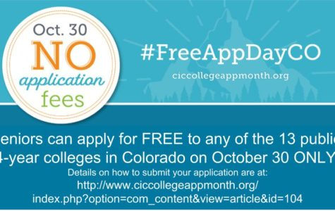 Free College Application Day in Colorado