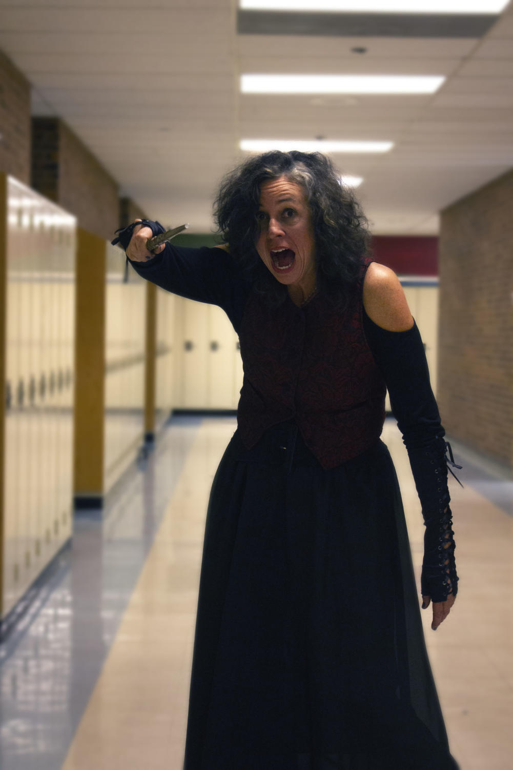 Also embracing a Harry Potter character, Ms. Jones does an incredible job portraying Bellatrix Lestrange.