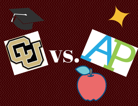CU Succeed and AP classes are both great options for students to earn college credit.