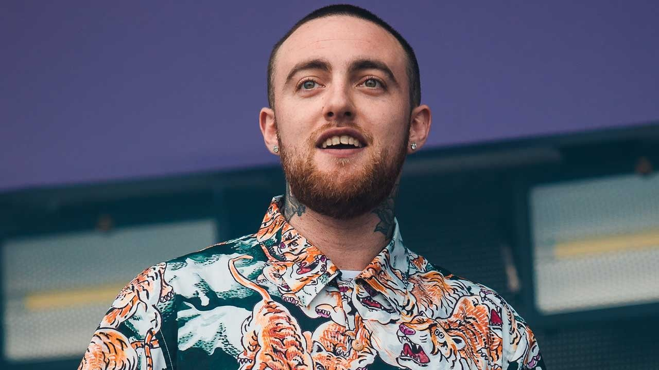The late rapper, Mac Miller, before his death on September 7, 2018.