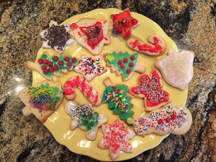 An+assortment+of+holiday+themed+cookies.