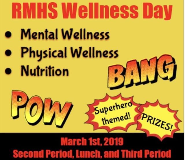 Wellness Day is a loved tradition at Rocky, make sure you can be there bo's!