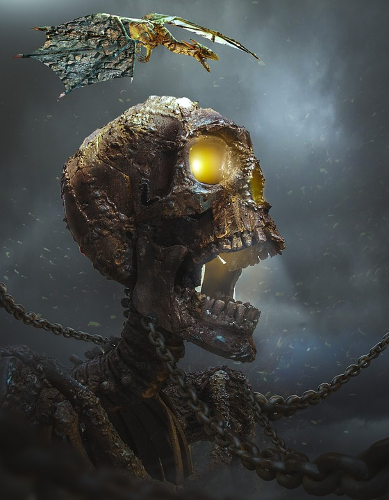 A+skeleton+is+often+representative+of+death.