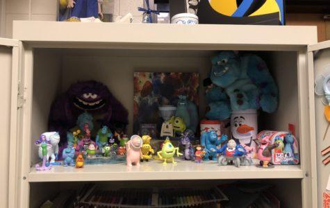 Mrs. Wolf reveals her secret closet of monsters.