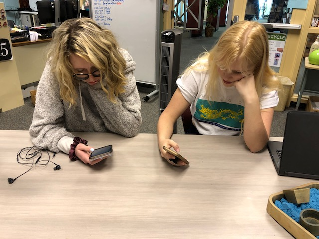 The lack of cell reception frustrates students who need phones for schoolwork or just for leisure.