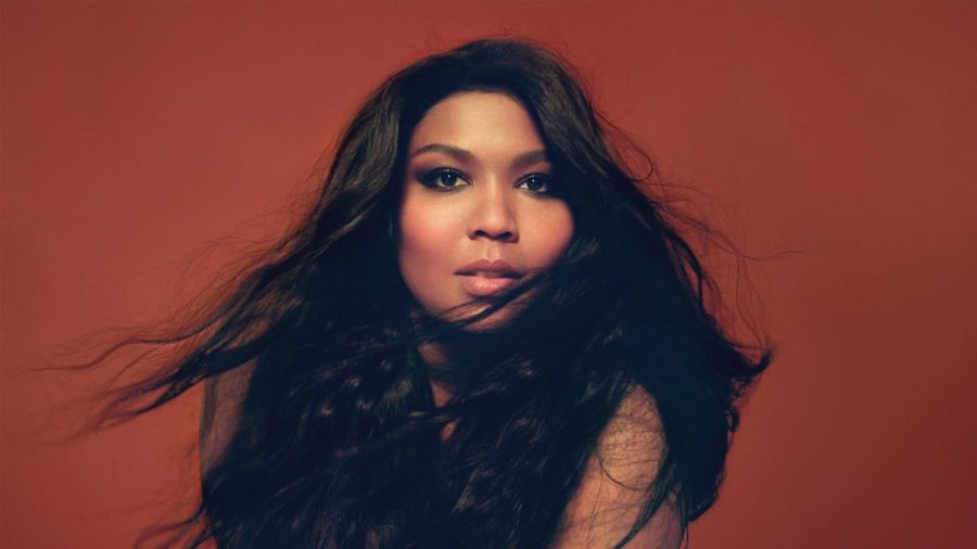 Breakout artist, Lizzo, poses beautifully for a picture.