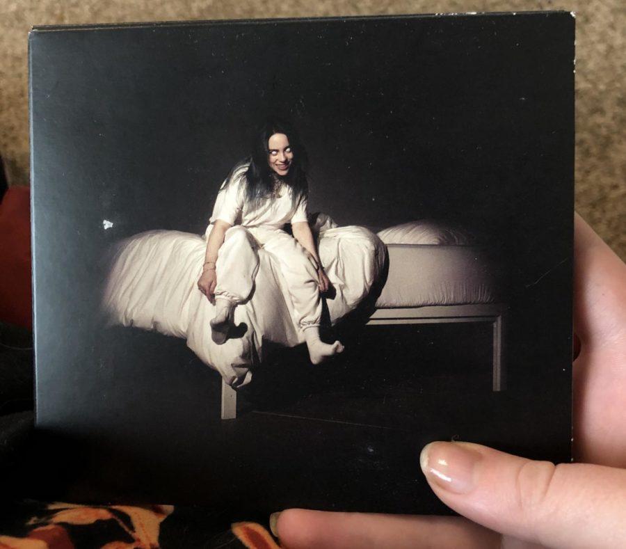 Billie Eilish's first debut album.