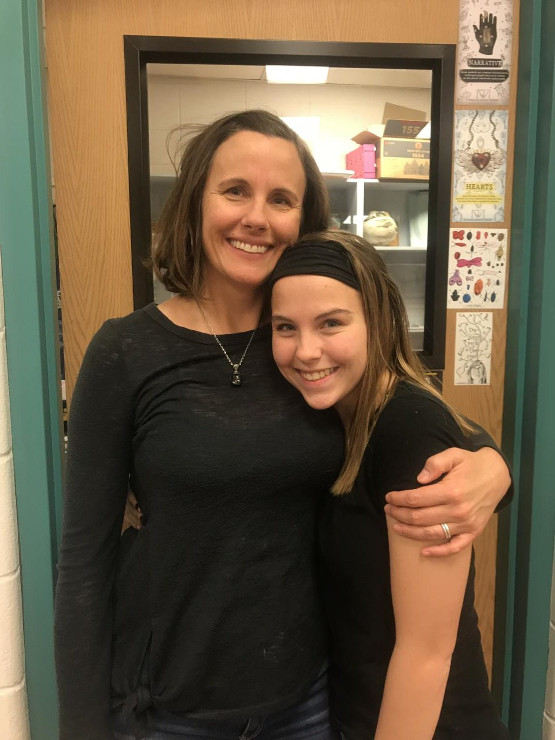 Senior+Maggie+Cronen+Is+another+art+teacher%E2%80%99s+kid+at+Rocky.+She+said%2C+%E2%80%9CThe+best+part+is+I+can+see+her+whenever+I+want.%E2%80%9D+When+it+comes+to+the+one+thing+that+really+gets+on+Maggie%E2%80%99s+nerves%2C+%E2%80%9Cis+when+I+find+out+some+tea+and+go+to+tell+my+mom+and+she+tells+me+%E2%80%98I+already+knew+that.%E2%80%99%E2%80%9D+