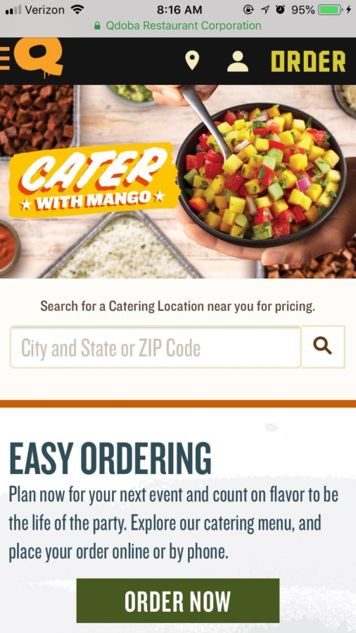 Qdoba%27s+catering+website+home+page.