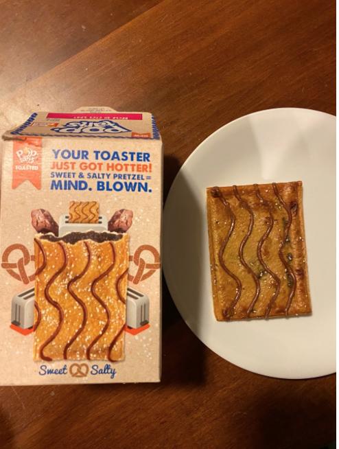 Pop-Tarts' latest flavor is Pretzel.