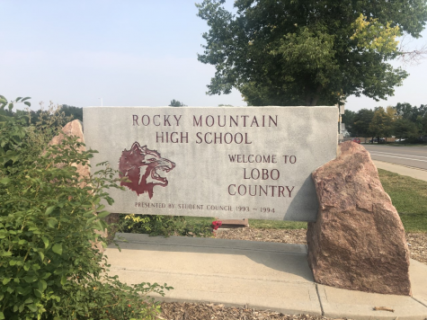 Rocky Mountain High School (sign pictured) closed in March at the beginning of spring break, only for school to never reopen.