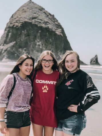 My cousins and I at Cannon Beach during the summer of 2019.