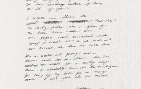 Shawn Mendes' handwritten note to his fans explaining the song.