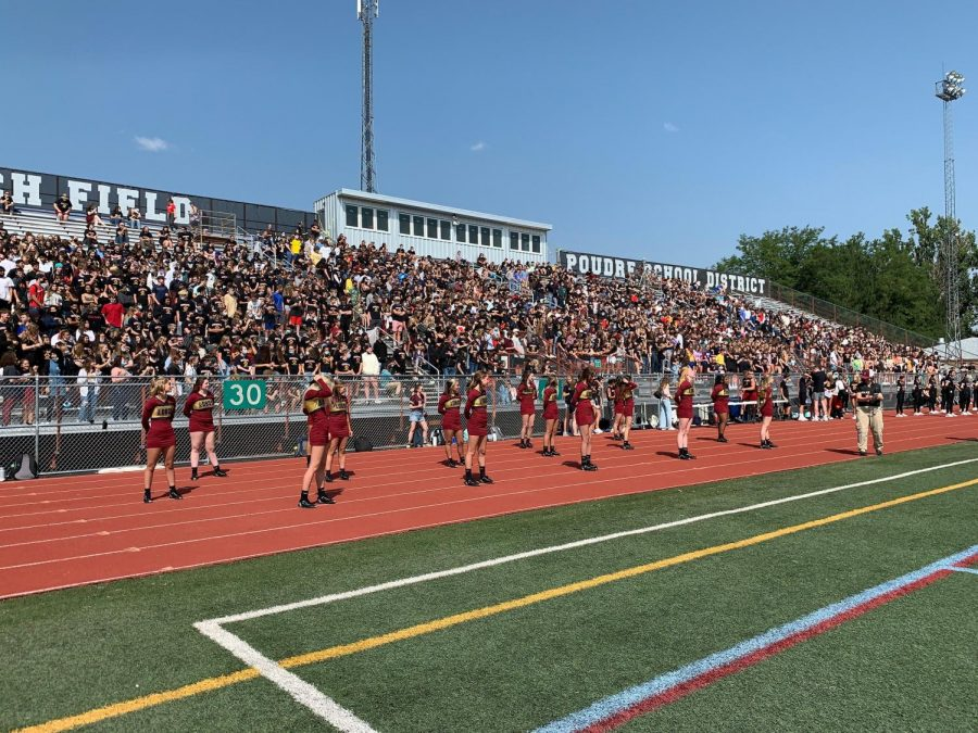 Back to School Assembly, First in 500 Days